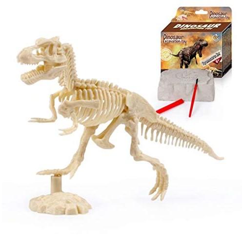 JOSIFER Dinosaur Excavation Kits for KidsDino Dig T-RexTriceratops and DiplodocusDinosaur Fossil Children's Popular Science Education Toys – DIY