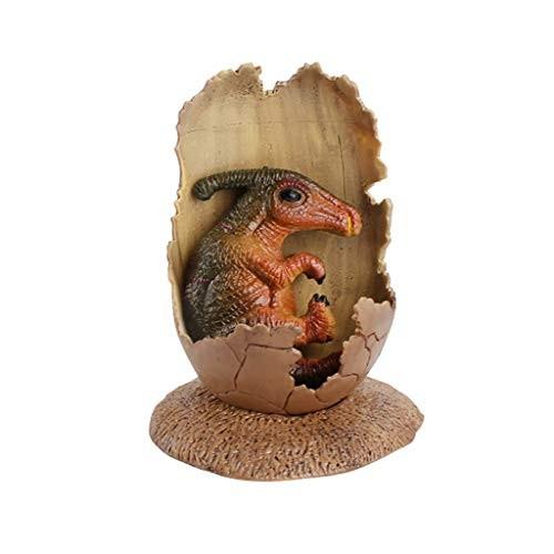Baishitop SUPPION Educational Simulation Dinosaur Model Children's Toy Gift 1Pcs Half-Hatched Eggs