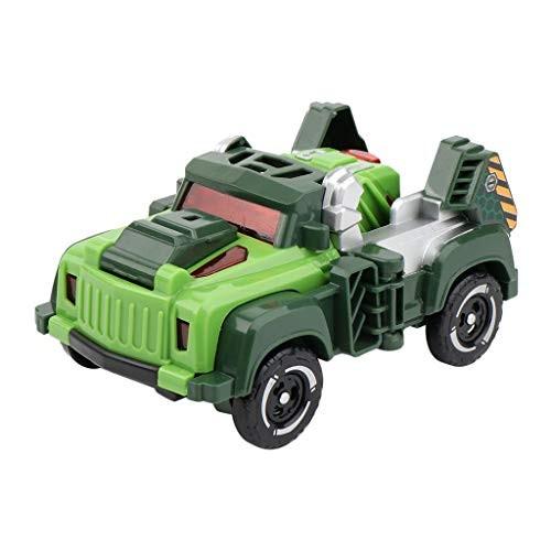CZYCO Children's Inertia-Toy Deformation Dinosaur Car Puzzle Early Education Toys
