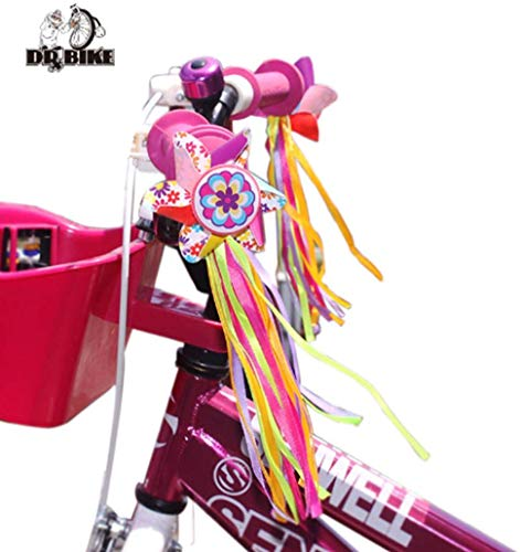 scooter Drbike Kids Bike Handlebar Windmill Decorate Bicycle Colorful Ribbon Streamers Tassels Streamer