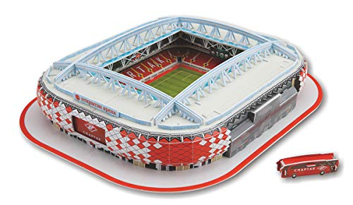 SPMA 1PACK 3D Puzzle Football Field Paper Craft Model Stadium Assembly Toy Educational Stereo Kit for Adults and Teens H
