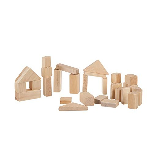 DutchCrafters Amish Made Wooden Building Blocks