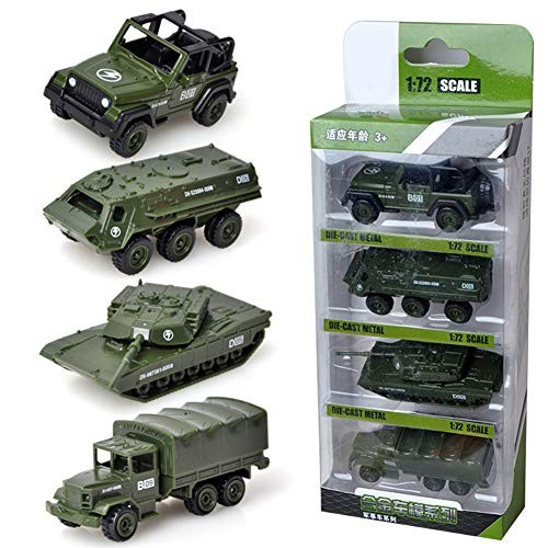 khkadiwb Kids Toy Collection Birthday Gift for Children Party Favors & 4Pcs Diecast Engineering