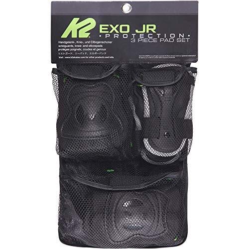 K2 Unisex's EXO JR PAD Set Protector Black-Green S