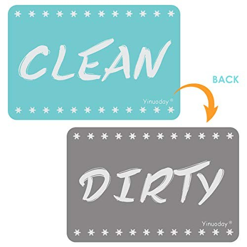 non Dishwasher Magnet Clean Dirty SigDouble Sided Flip IndicatorReversible Sign