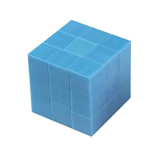 Fanthee Building Blocks Toy27Pcs Set Magnetic Bricks Stress Relief Education Kids Toy Blue
