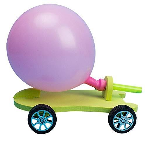 Childplaymate Filler Balloon Car DIY Student Scientific Experiment Equipment