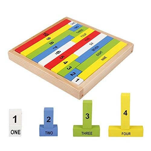 Children Kids Jigsaw Toy Wooden Building Blocks Baby Early Educational Toys
