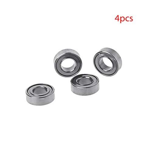 EAPTS 4Pcs/Set RC Ball Bearing Bearing Wheel for 1/16 WPL B1 B-14 B-16 C-14