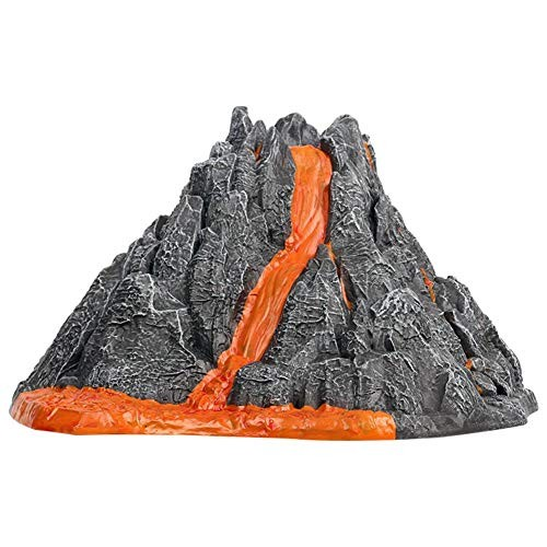 Funarrow Erupting Volcano Model DIY Geology Chemistry Lab Simulation Toy ABS Environmentally Friendly Materials for Raise Your Kids Interest in Learning