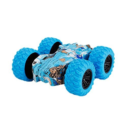 Owill Inertia Car Toys Friction Powered Car Model for Toddler Kids Push and Go