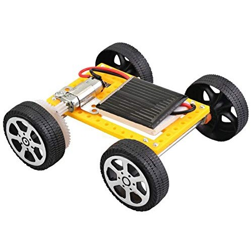 VxB Brand Solar Power Powered Toy Car Kit STEM DIY 80x75x32mm