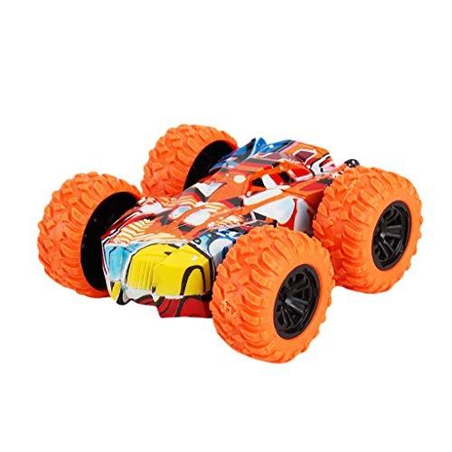 Kimanli Car Toy Kids Toy Gift Inertia-Double Side Stunt Graffiti Car Off Road Model