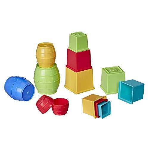 Playskool PLA PF Stack NEST Blocks Barrel Bundle