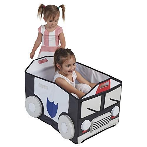 ECR4Kids SoftZoneMy Safe Space Toy Police Car for Kids (Renewed)