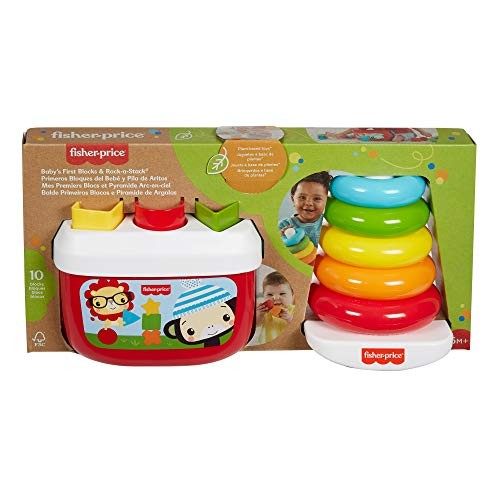 Fisher-Price Baby's First Blocks & Rock-a-Stack