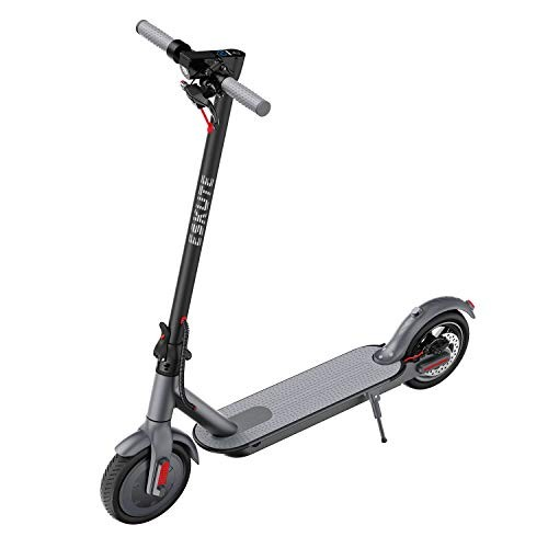 ESKUTE Electric Scooter Powerful 350W Motor 36V 75Ah 270Wh Battery Max Speed 15 MPH Foldable & Portable85 Non-Pneumatic Foam Filled Maintance Free Tires for Commute ES1