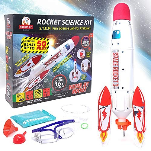BLOONSY Water Rocket Kit Rockets for Kids Toy Launcher