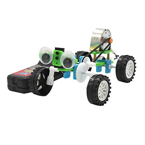 Celiy Wire-Controlled Small Reptile DIY Machine Invention Science Electric Robot Toy 4th of July Gifts