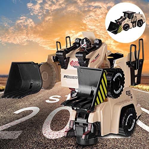 Control Car Electric Music Light Stunt 360 Rotation Universal Wheel Toy Kids Gift Deformation Engineering Vehicle