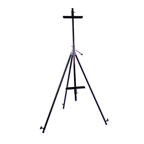 Easel Picture Frame Iron Triangle Foldable Telescopic Student Sketching Tool Easy to Carry and Can Be Used in The Field Folding