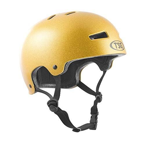 TSG Evolution Skate & Bike Helmet in Goldie w/Snug Fit & Triple Cert for