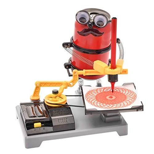 PLAYSTEAM Tin Can Arts Robot Spiral Factory