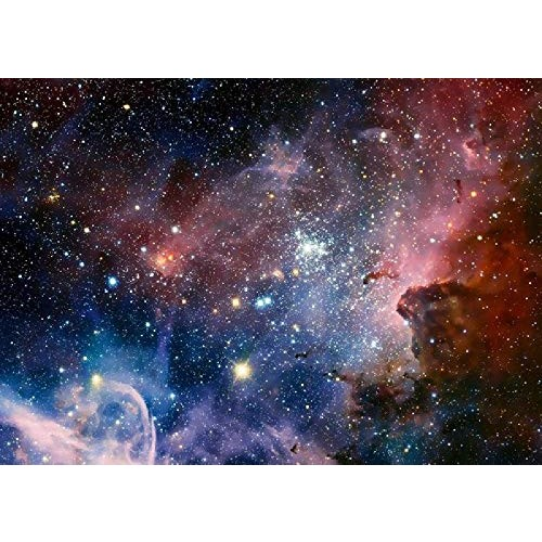 Astronomy Space Galaxy Nebula 1000 Pieces of Adult Puzzles-Each Piece The Puzzle is Unique and Can Be Perfectly Combined Together