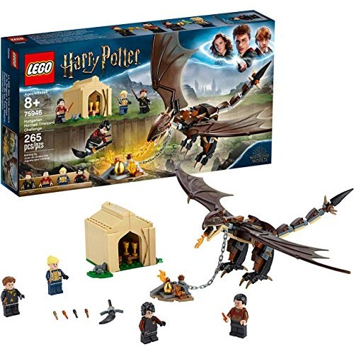 LEGO Harry Potter and The Goblet of Fire Hungarian Horntail Triwizard Challenge 75946 Building Kit 265 Pieces Renewed
