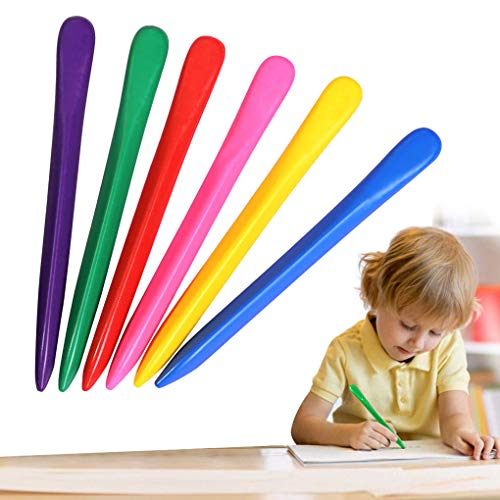 Non Toxi Kids Toddlers Triangular Crayon 36 Colors Washable Coloring Set Colorful Drawing Art Crayons School Office Supplies Tools for Children Boys Girls