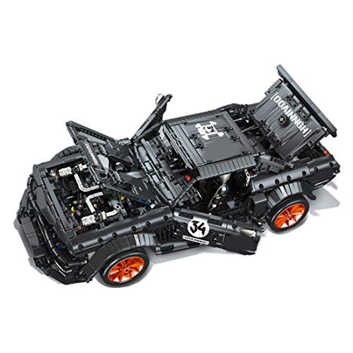 Lingxuinfo 3168Pcs Racing Car MOC Building Blocks and Engineering Toy Compatible with Major Brands 1 10 Sports Kit