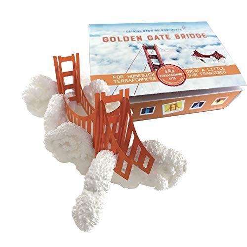 Copernicus Toys Crystal Growing Golden Gate Bridge Official Terraformer kit Grows in Hours
