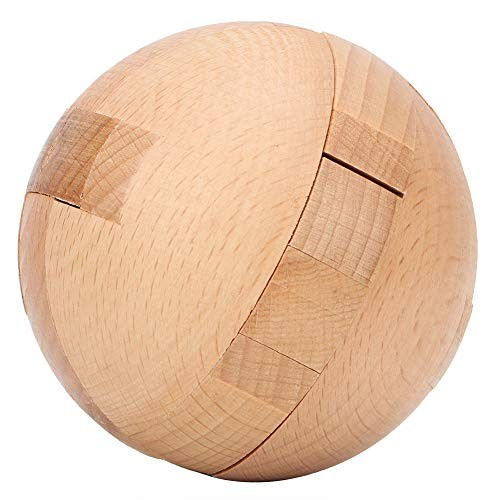 Fishlor Lock Building Block Wooden Children Intelligent Toy Puzzle Ball Educational