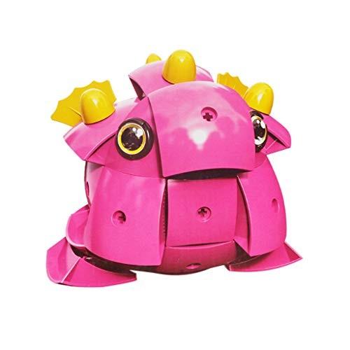 71PCs Magnetic 3D Animal Jigsaw Puzzle Wisdom Ball Building Blocks Set Toys Educational Stem for Kids