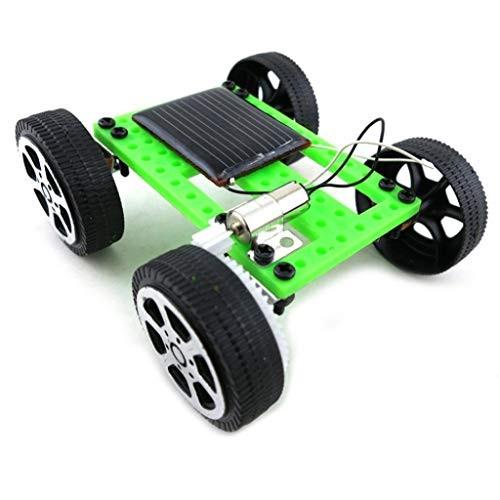 Kekailu Toy Car KitMini Solar Powered Racing Vehicle Educational DIY Gadget Kit Kids Gift