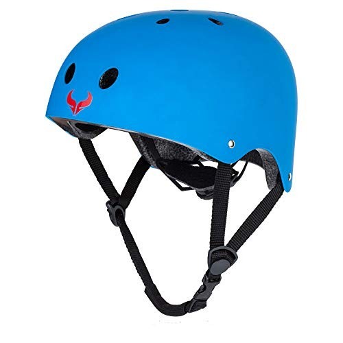 Helmet Skateboard Cycling ASTM & CPSC Certified Two Removable Liners Ventilation Multi-Sport Scooter Roller