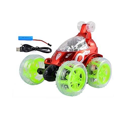 QREZ Remote Control Car RC Vehicle Four Wheel Stunt Car 360 Degree Rolling Rotating