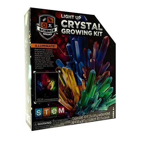 MISC Light Up Crystal Growing Kit Unisex Plastic