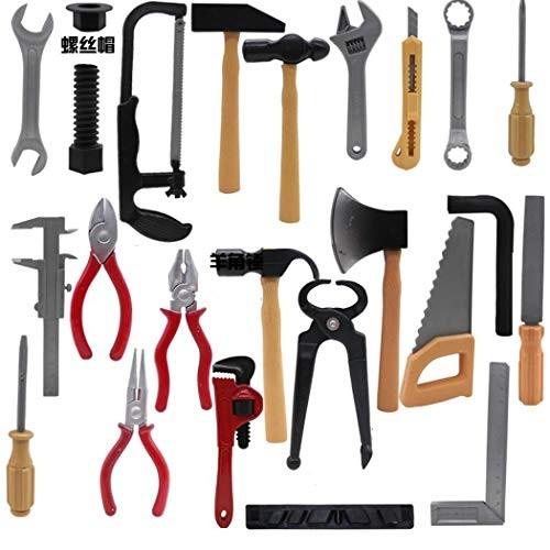 fercisi 14Pcs Set Repair Tool Kids Workbench Power Home Toy SetBoys Girls Gift Figures & Playsets