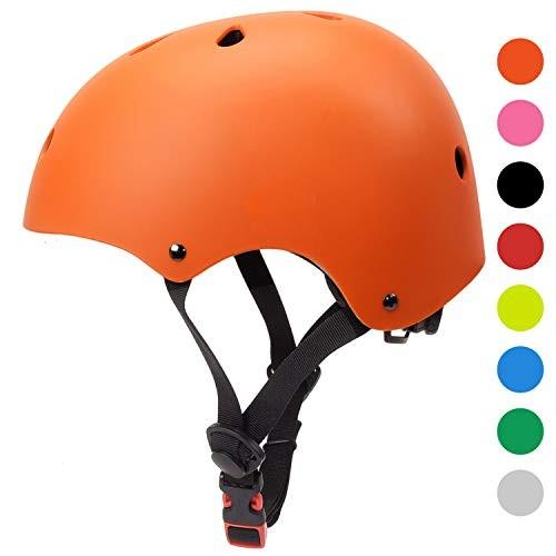 Glaf Skateboard Helmet Bike Skate Multi-Sport Helmet Kids Youth Adults Scooter Roller Skate Inline
