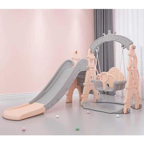 DEKOSH Toddler Playset Swing & Slide for Kids   Safe & Sturdy Toddler Swing