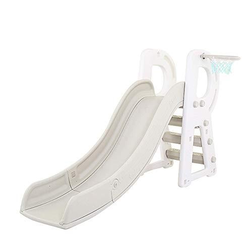 HAPPYMATY R-Shape Kid Play Slide Heavy Plastic Climb Playground Toy Set for Toddler Little