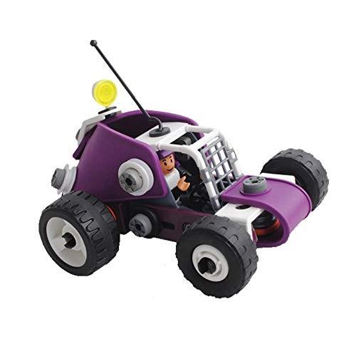 Baoer Kids 4 in 1 DIY Assembly Blocks Nut Engineering Vehicle Puzzle Toy
