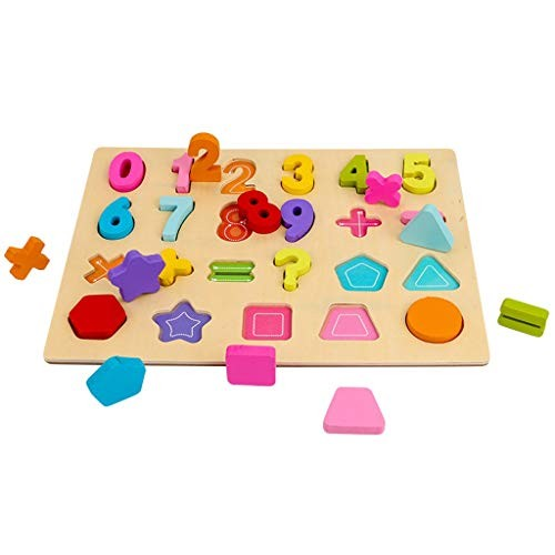 WOCACHI 2020 Wooden Puzzle for Toddlers Building Blocks Alphanumeric Board Enlightenment Scratch Baby Perfect Pegged Toddler Learning Preschool Education