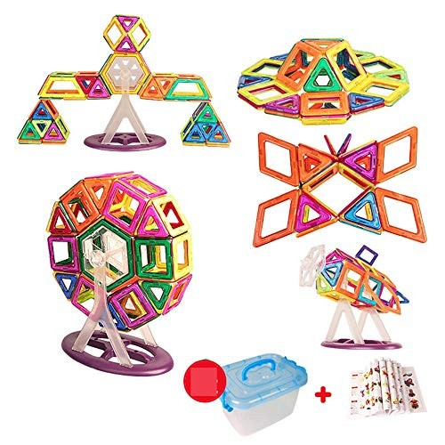Wooden Block Building Tiles Set Creativity Toy for Preschool Toddlers Blocks Toys 269 PCS Children's Color Multi-Colored Size 269PCS