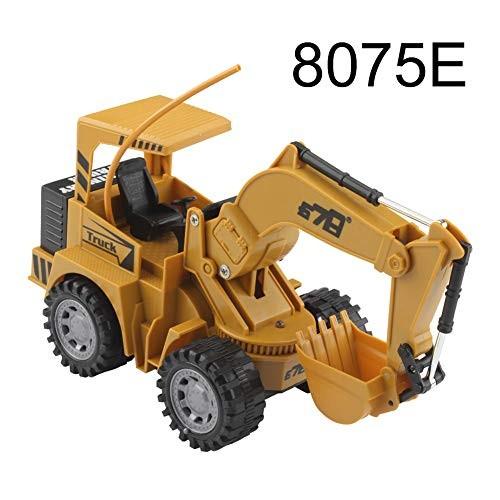 lEIsr00y 1 24 5CH Wireless Remote Control Engineering Car Excavator Vehicle Kids Toy – #Excavator