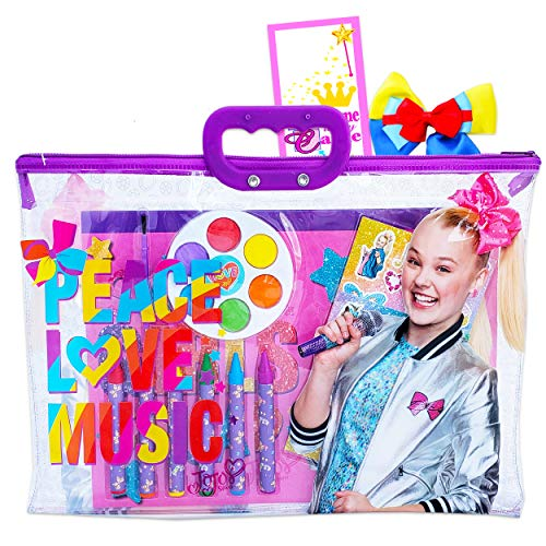 JoJo Siwa Coloring Book And Activity Super Set For Kids Toddlers ~ Painting  With Paint Brush Stickers Tote Bag JoJo Party Supplies Bundle - Educational  Toys Planet