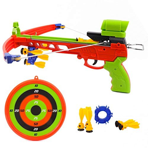 Crossbow Kids Archery Set Toy Crossbow Set Includes Archery Target and Suction Darts Kid's
