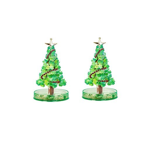 Klions Crystal Growing Garden Kit Grow Two Trees in Just 15 Hours with This for Kids Home Science Learning Gift Boys and Girls Valentine's Day