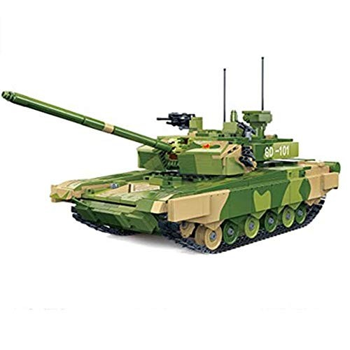obzk 1283 Pieces Custom Building Blocks Model for Moc Vehicle kit Compatible with Major Brands Military Block – 1 28 Large Tank Toy
